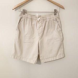 CHUBBIES Khaki Shorts High Waisted W/Drawstring